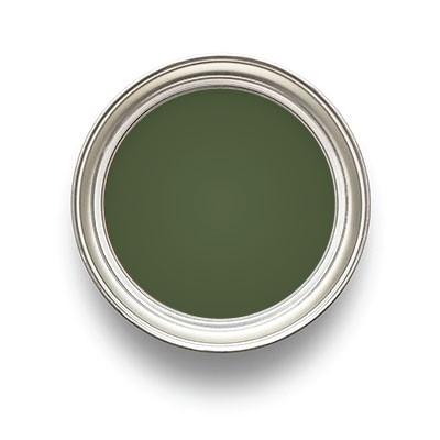 Leinölfarbe Chromoxydgrün